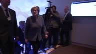 Switzerland WEF Merkel