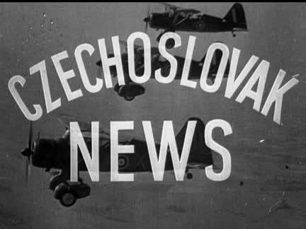CZECH NEWSREEL  - NO SOUND