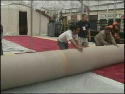 Entertainment LA Oscar red carpet