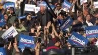 US NY Sanders Rally (Lon NR)
