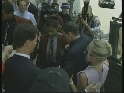 USA: TOUR DE FRANCE WINNER ARMSTRONG WELCOMED HOME (2)