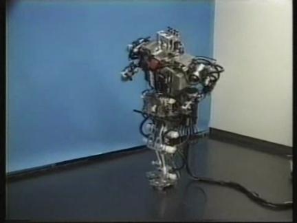 JAPAN: SCIENTISTS BUILD WABIAN - WORLD'S FIRST DANCING ROBOT