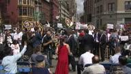 US NY Taxi Turmoil