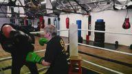 Meet the 76-year-old female kickboxer