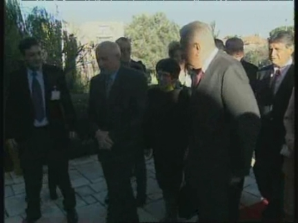 WEST BANK: LEADERS PAST & PRESENT GATHER FOR PEACE FORUM