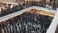 HK Flash Mob Glory To Hong Kong