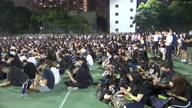 Hong Kong Protest Night