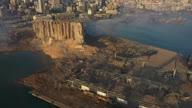 Lebanon Blast Aerials