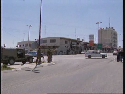 WEST BANK:HEBRON:TENSION HIGH BETWEEN SETTLERS AND PALESTINIANS