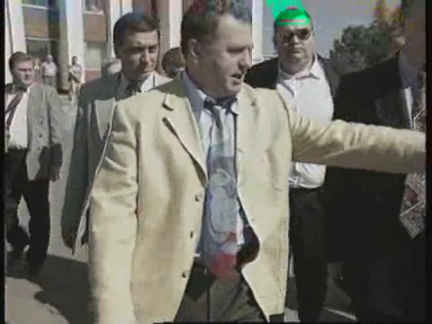 RUSSIA: VLADIMIR ZHIRINOVSKY ELECTION CAMPAIGN