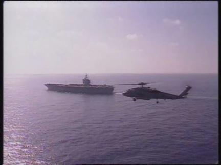 ISRAEL: PRIME MINISTER NETANYAHU WELCOMED ABOARD USS ENTERPRISE