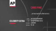Entertainment UK Chris Pine pt 2
