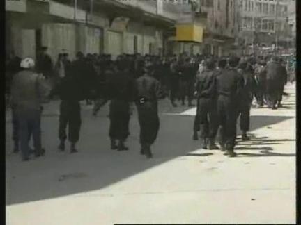 WEST BANK: PALESTINIANS & ISRAELI SOLDIERS CLASH IN HEBRON UPDATE