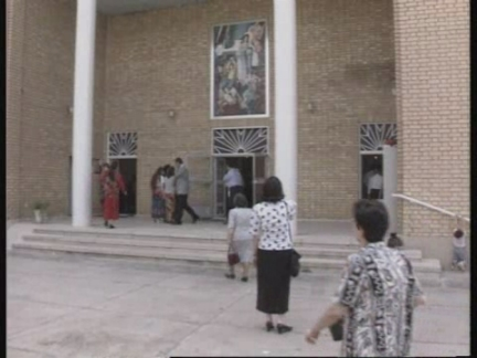Iraq - Galloway visit incorporates easter service