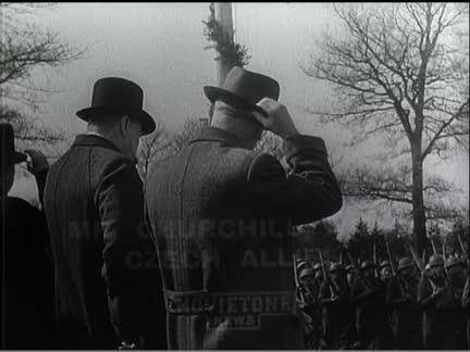 Churchill With Czech