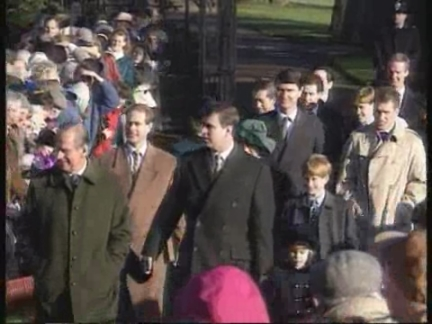 UK - Royals Arrive For Xmas Morning Church Service