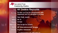 Entertainment New York Debbie Reynolds