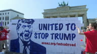 Germany Trump Wall 2
