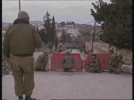 WEST BANK: BETHLEHEM: PALESTINIANS CLASH WITH ISRAELI TROOPS