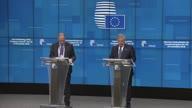 Belgium EU Summit Tajani