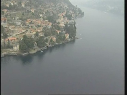 Italy Aerials Lake Como