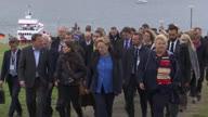 Iceland Merkel Nordic Leaders