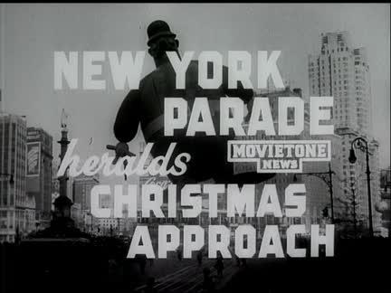 NEW YORK XMAS PARADE (MACY'S)