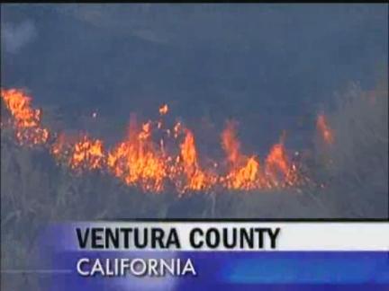 DVS Calif Wildfire