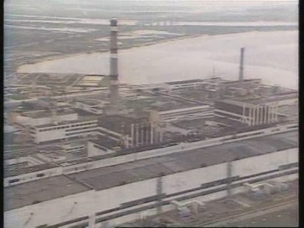 Ukraine - File Footage of Chernobyl Nuclear Plant
