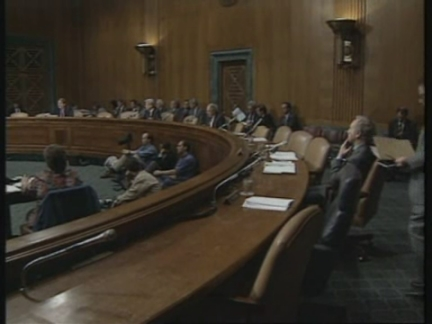 USA: SENATE HEARING ABOUT CHEMICAL EXPOSURE IN PERSIAN GULF WAR