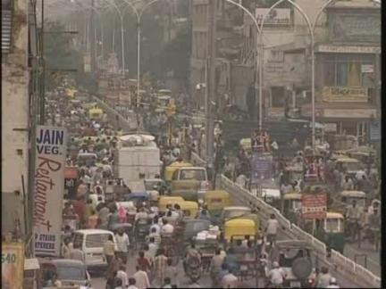 (HZ) India Population