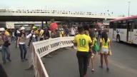 SNTV World Cup Brasilia Protest
