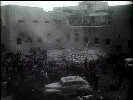 JEWISH AGENCY BOMBED