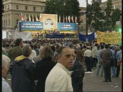 Spain/Italy/Germany - European Election Rallies