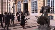 France Dior Arrivals