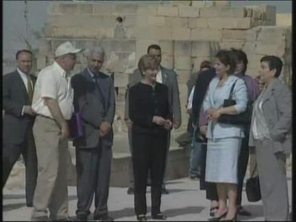 Middle East Laura Bush 4