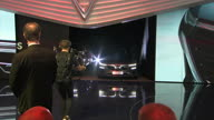 TT France Motor Show Beckham