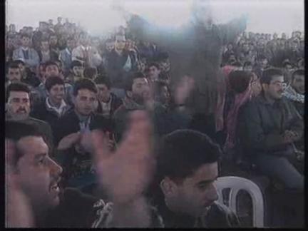 GAZA STRIP: HAMAS SUPPORTERS RALLY AT YEHIYA AYYASH FUNERAL
