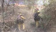 US CA Wildfire Santa Cruz (CR)