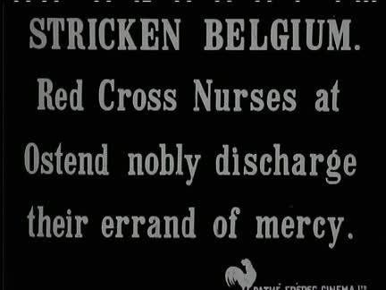 STRICKEN BELGIUM - NO SOUND
