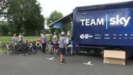 Cycling Tour de France Team Sky