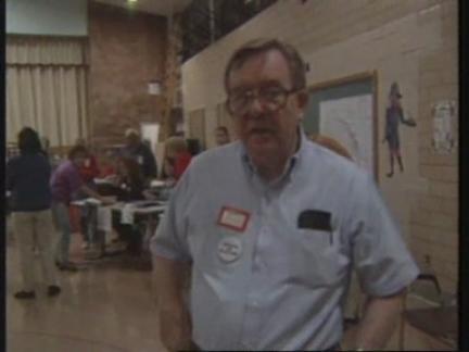 USA: PRESIDENTIAL ELECTION VOTING IN PROGRESS