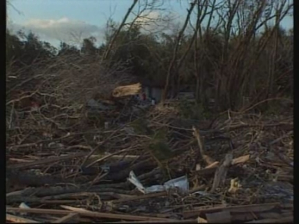 USA: DEVASTATION FOLLOWING SEVERE STORMS