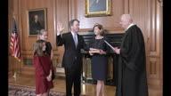 US Kavanaugh Sworn STILLS-in