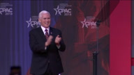 US CPAC Pence