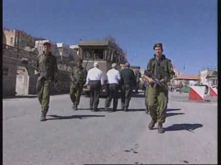 WEST BANK: HEBRON: PALESTINIANS PREPARE FOR CONTROL OF CITY
