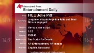 Entertainment US Jolie Pitt