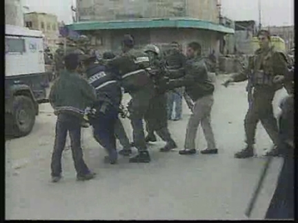 HEBRON: WEST BANK: PALESTINIAN IS KILLED BY JEWISH SETTLER