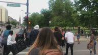 Driver Runs Down Protester at George Floyd Demonstration in Denver