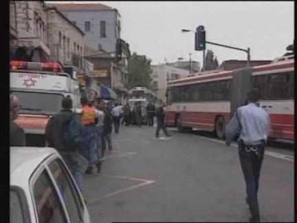 Israel - Boy crashes car into crowd